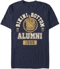 fifth sun men's bikini bottom alumni short sleeve crew t-shirt