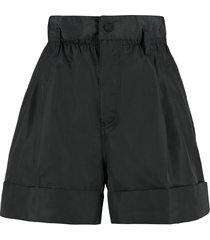 moncler high waist shorts