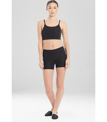 natori bliss flex shorts, women's, 100% cotton, size s
