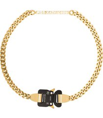 1017 alyx 9sm buckle chain necklace - gold