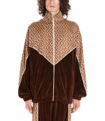 gucci gucci rhombus jaquard sweatshirt