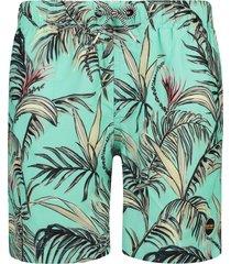 shiwi heren zwembroek - tropisch groen-m