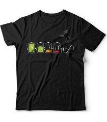 camiseta battery life - unissex