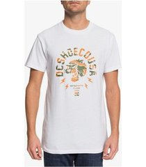 t-shirt korte mouw dc shoes worldwide usa edyzt04105