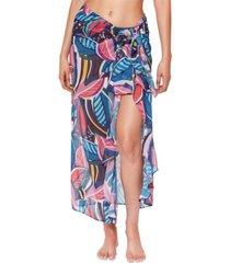 bleu by rod beattie absolutely fabulous chiffon sarong cover-up women's swimsuit