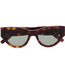 saint laurent eyewear cat-eye tinted sunglasses