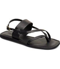 stb-tao strap shoes summer shoes flat sandals svart shoe the bear
