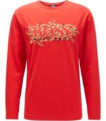 boss men's togn cny regular-fit t-shirt