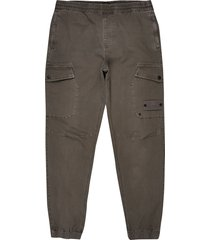 men's river island cargo pants, size 28 x 32 - brown