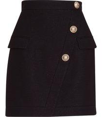 balmain wallet skirt