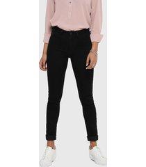 jeans jacqueline de yong negro - calce skinny