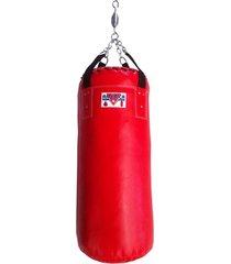 saco de pancada 1m vermelho américa