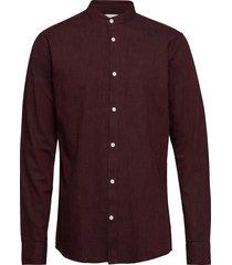 anholt skjorta casual röd minimum