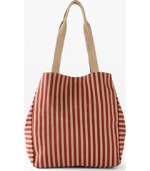 borsa shopper in tessuto (beige) - bpc bonprix collection