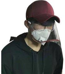 eh sombrero anti-vaho con máscara a prueba de salpicaduras cap 1 pieza