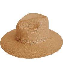 hibiscus woven panama hat