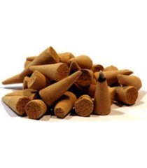 12 handmade sandalwood incense cones for all entities use as offerings!
