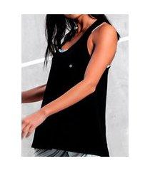 camiseta regata feminina malwee 1000079129 preto