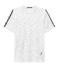 camiseta m/curta branco johnny fox 8 branco