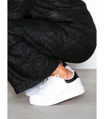 nly shoes perfect sneaker low top vit/svart