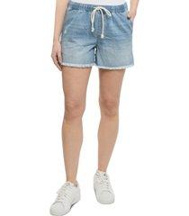 vanilla star juniors' pull-on boyfriend shorts