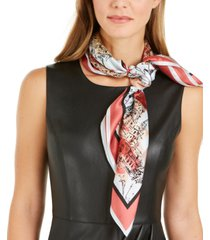 vince camuto vacation silk bandana square scarf