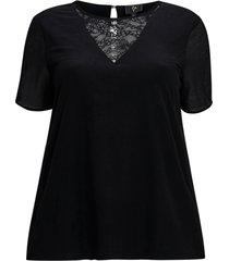 blus yzassy s/s lace blouse