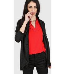 blazer negro nylon