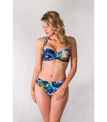 bomain ladies wire bikini bright flower -