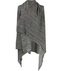 daniel andresen calla sleeveless cardigan - grey