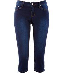 jeans capri powerstrech skinny (blu) - john baner jeanswear