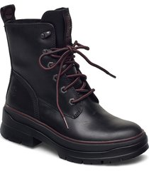 malynn mid lace ek+ wp shoes boots ankle boots ankle boot - flat svart timberland
