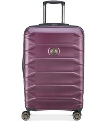 """delsey meteor 24"""" hardside expandable spinner suitcase, created for macy's"""
