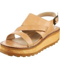 sandalia de cuero suela fionna maia