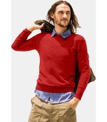 top da uomo casual in maglione lavorato a maglia a tinta unita