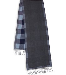 double-face wool scarf