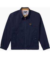 tommy hilfiger adaptive men's iconic re-issue yacht jacket with magnetic zipper