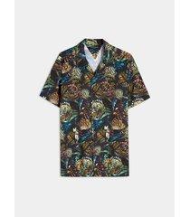 camisa resort selva tropical
