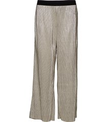 iris metallic culotte vida byxor beige soaked in luxury