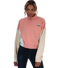 womens r.y.v. cropped sweatshirt