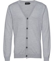 jambon stickad tröja cardigan grå matinique
