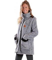 abrigo cumbres gris raindoor