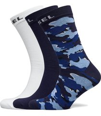 skm-ray-threepack socks underwear socks regular socks multi/mönstrad diesel men