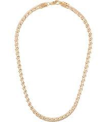 emanuele bicocchi woven-effect necklace - gold