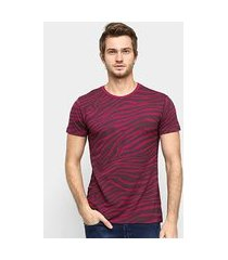 camiseta squadrow visco zebra masculina