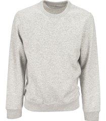 brunello cucinelli sweatshirt in cashmere and cotton