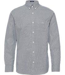 d1. melange dobby reg bd skjorta casual vit gant