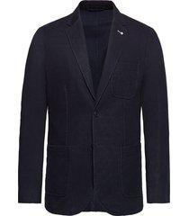 d1. the cavalry twill blazer blazer colbert blauw gant