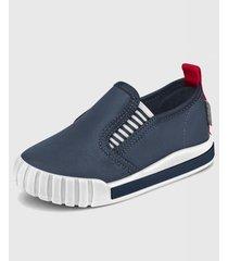 zapatilla comfy azul marino