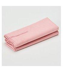 amaro feminino casa trópico par de fronhas marselha 230 fios, rosa